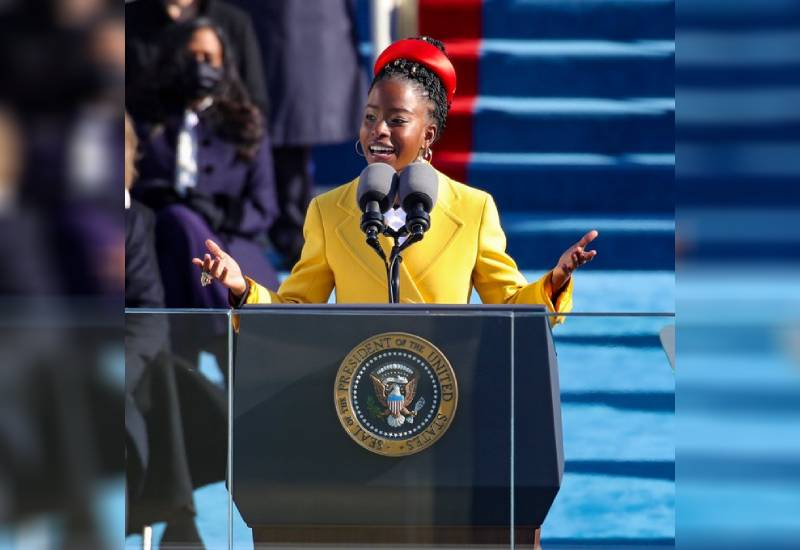 Amanda Gorman: The youngest poet to perform at a presidential inauguration