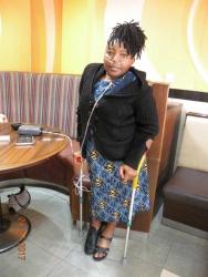 Beth Njoroge:My life on an oxygen machine