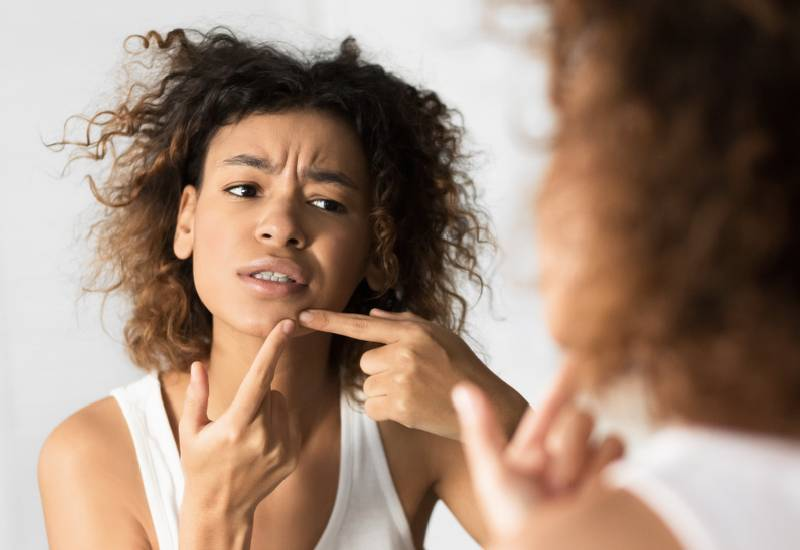 Causes of breakouts on various parts of your face