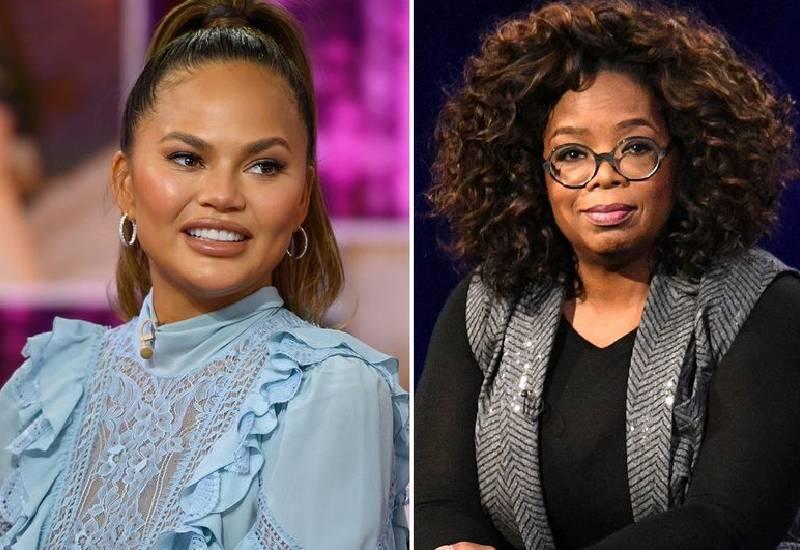 Chrissy Teigen wants to follow in Meghan's footsteps 'with sit-down Oprah interview'