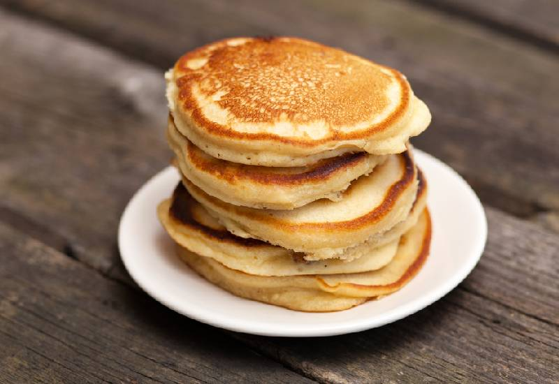 Easy recipes:  Fluffy pancakes