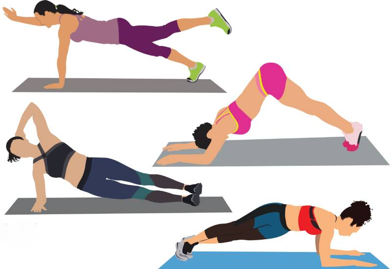 Fitness: Four moves to get that coveted snatched waist