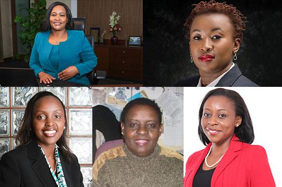 Five Kenyan women running corporate Kenya