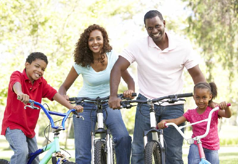 Five ways to encourage family fitness