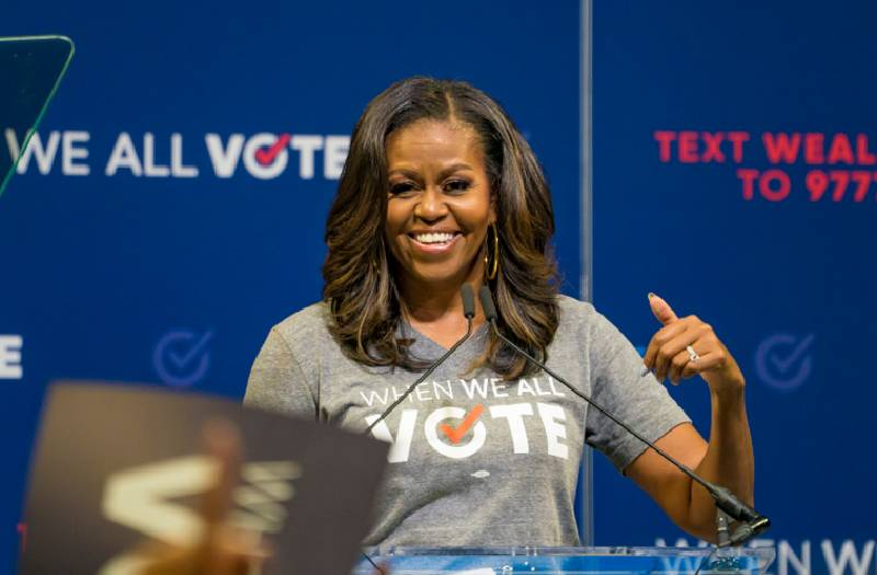 How about Vice President Michelle Obama?