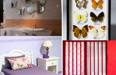 How to spice up your rooms with butterflies