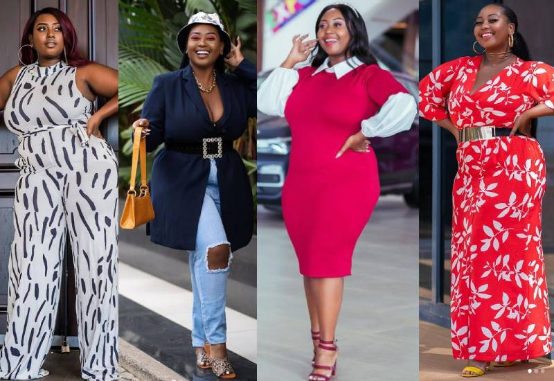 It's all colour and curves with fashion blogger Miss Nyawi