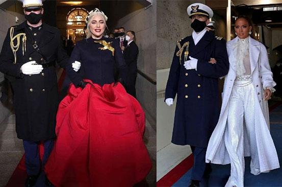 JLo and Lady Gaga big performances at Biden's inauguration