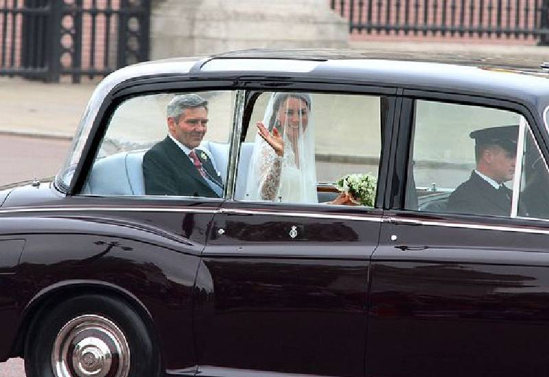 Kate Middleton was caught up in car bomb terror on her wedding day