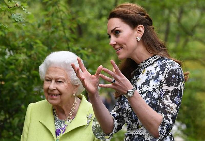 Kate Middleton's 'direct line' to Queen to give vital updates on Prince George