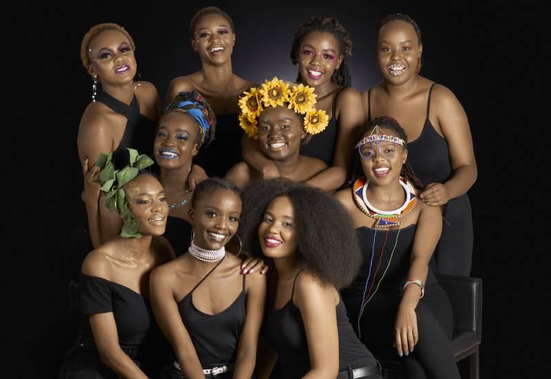 Kenyan beauties celebrate International Lipstick Day