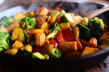 Forget the norm. Try this delicious Lightly fried vegetables recipe