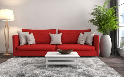 Make your sofa look new by changing these three things