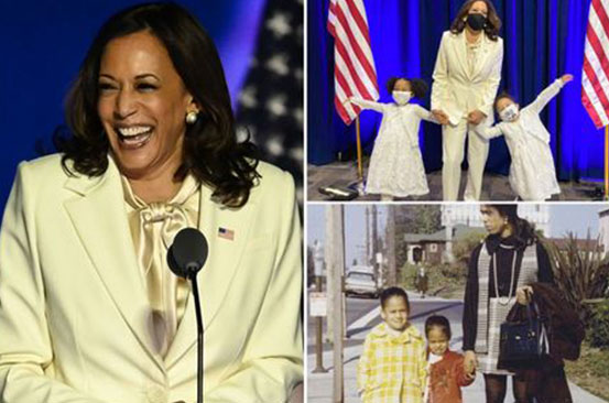 Meet US Vice President Kamala Harris' adorable great-nieces who have gone viral