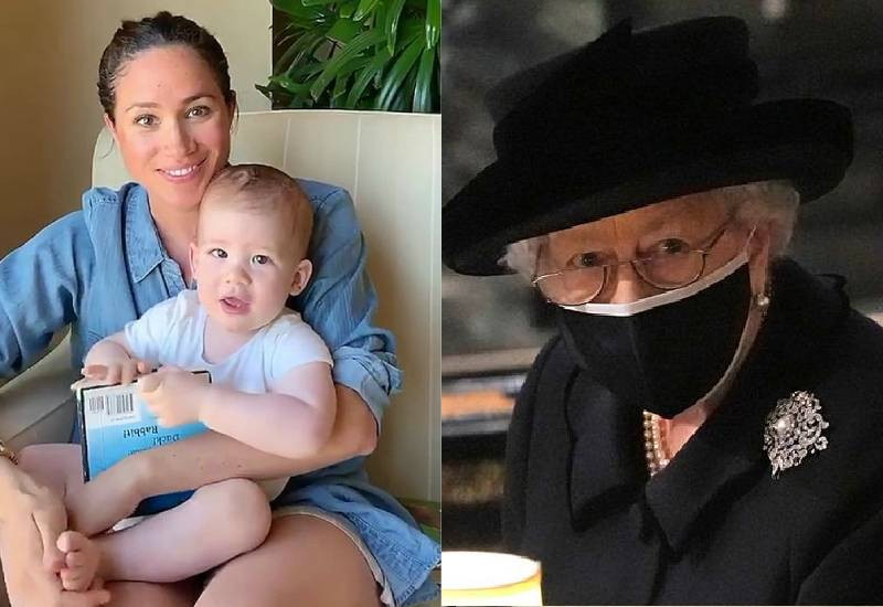 Meghan Markle and son Archie 'spoke to Queen before Prince Philip's funeral'