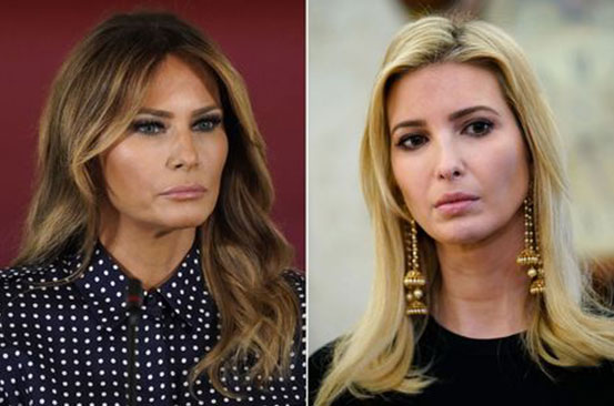 Melania and Ivanka Trump's 'competitive' relationship changed in lead up election
