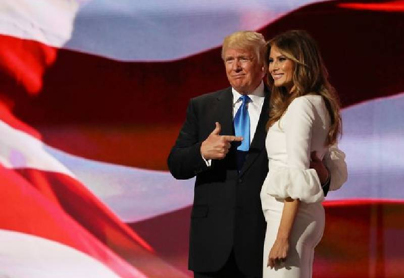 Melania Trump's popularity rating as First Lady