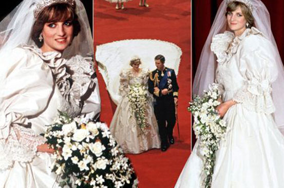Mystery of Princess Diana's secret second wedding dress which vanished from studio