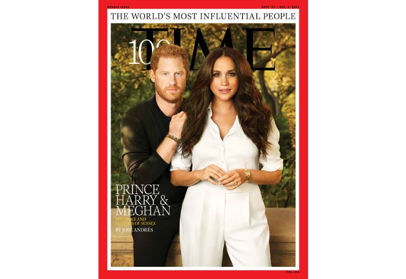 Prince Harry and Meghan featured on Time's top 100 most influential