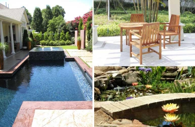 Put style in your outdoor area. Here's how to achieve a trendy, contemporary garden