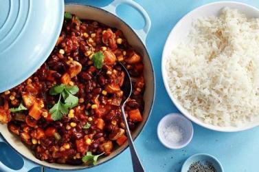 Slimming World recipes: Mixed bean tex-mex chilli