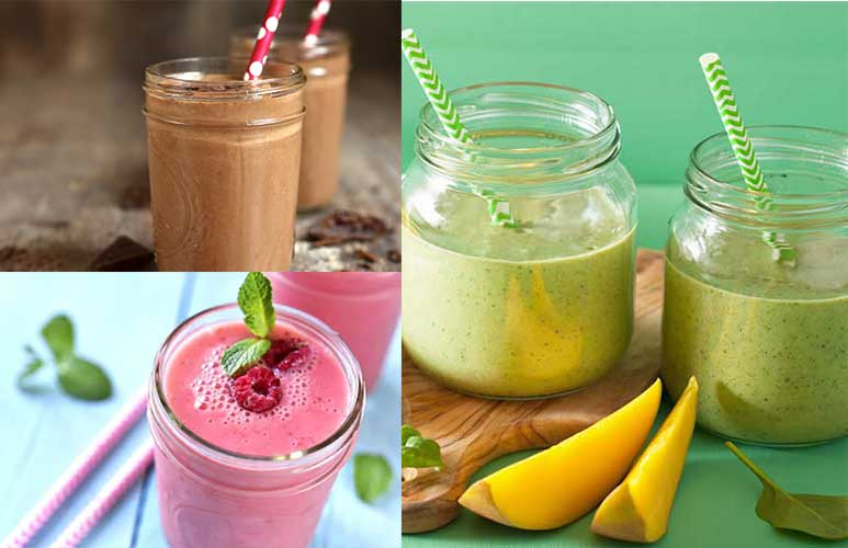 Three easy DIY smoothies for kids