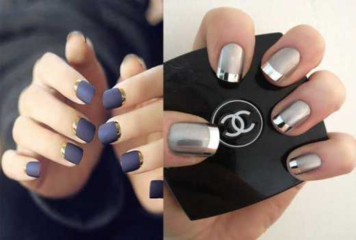 8 metallic nail designs you should try right now