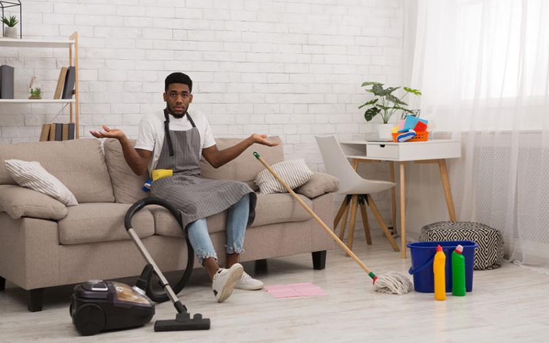 Bad Boy: Of men who hate manly household chores