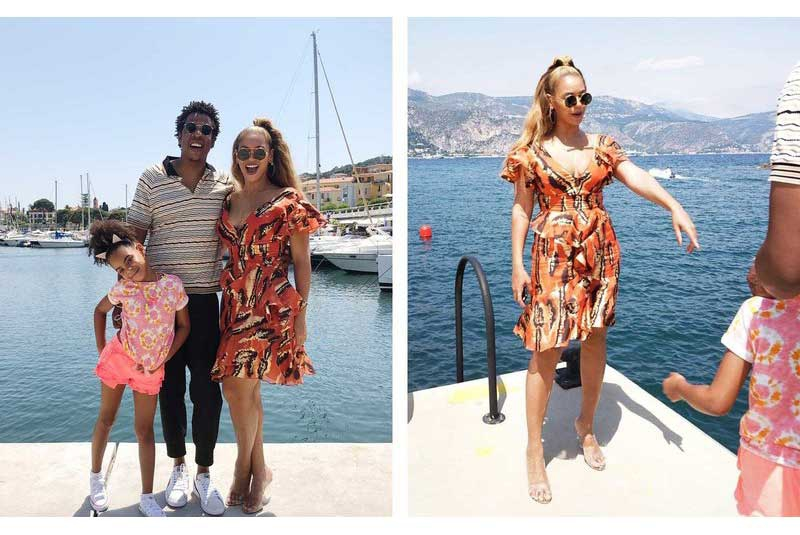Beyoncé, Jay Z and Blue Ivy, sweet family photos of their vacation in Monaco