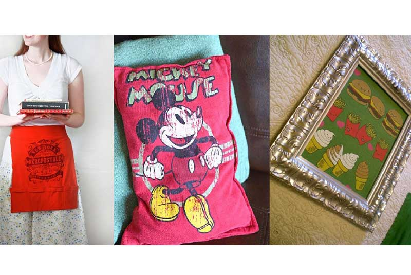 Four cool things you can make out of your old t-shirts