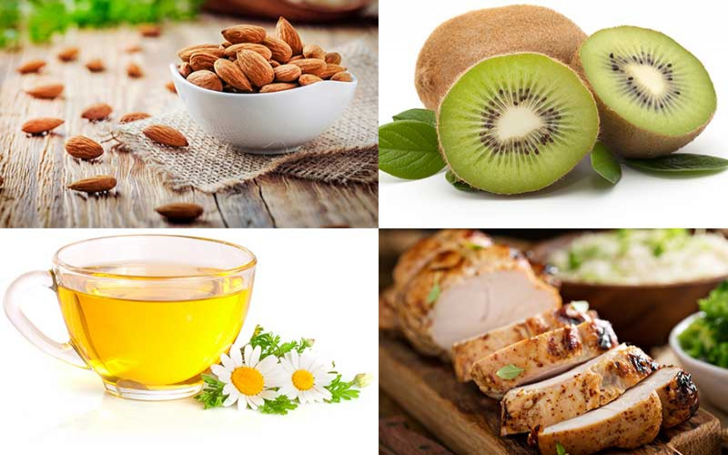 Four foods that help with the sleepless nights