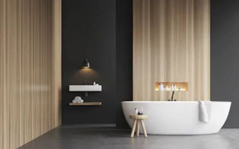 Home style: Types of bathroom wall finishes
