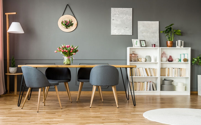 Home style: Ways to use grey in your dining area
