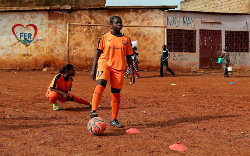 How first female football academy is changing the lives of Cameroonian girls