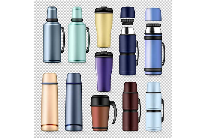 Easy steps to clean your stained thermos flask at home