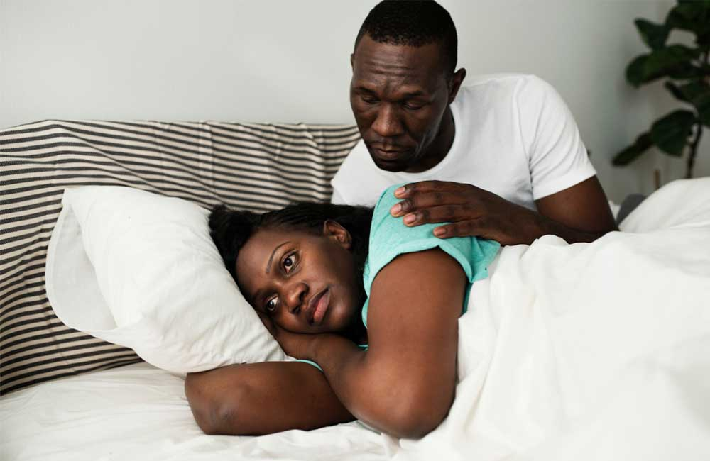 How to handle a partner suffering from post-partum depression
