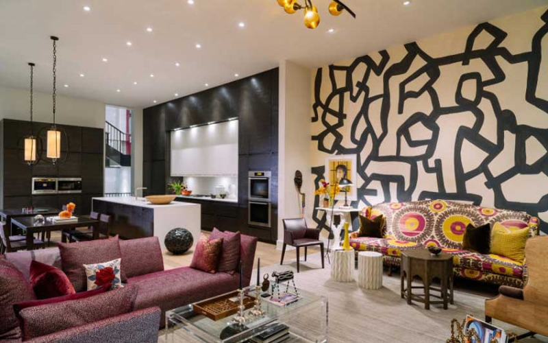 Interior décor: Exciting your space with a creative mix of colours