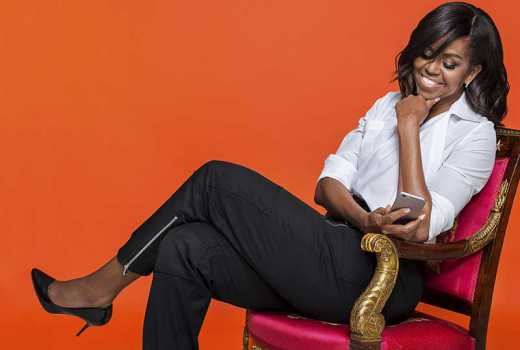 Photos: Michelle Obama at 54 looks flawless