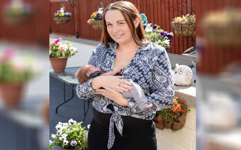 New mum goes into labour eight times during single pregnancy