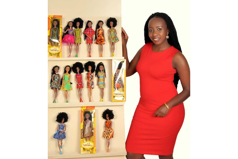 Olivia Mengich, Kenyan lady making African dolls