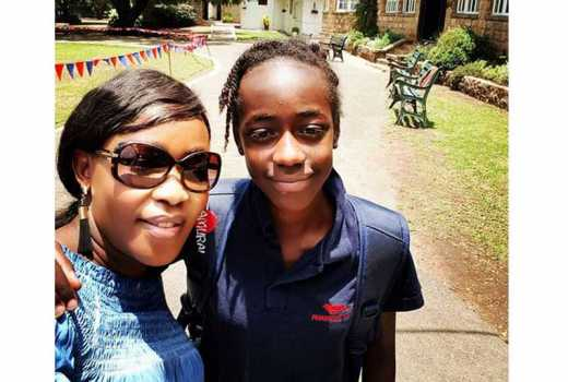 Photo story: Meet Imani, Terryanne Chebet's all grown daughter