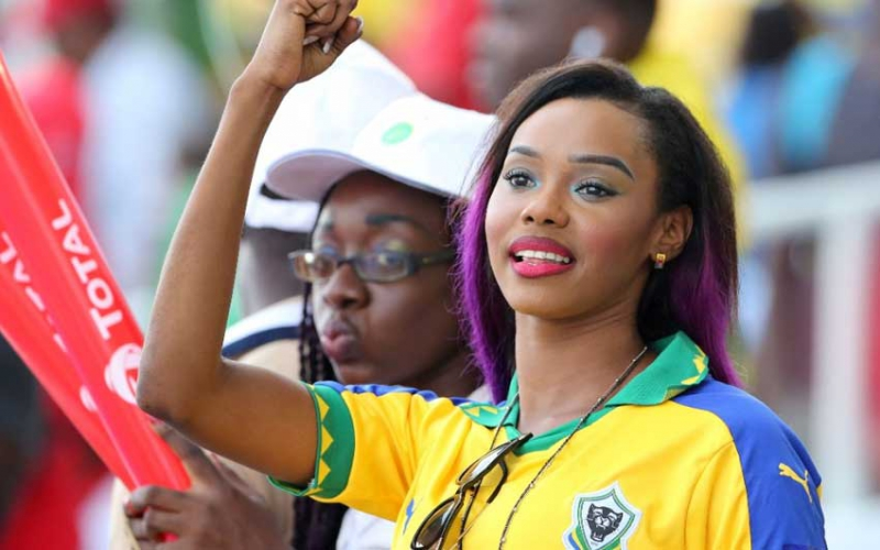 Photos: Female fans lighting up football tournaments