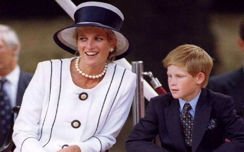 Prince Harry's pal praised how he dealt with Princess Diana's death in moving wedding speech