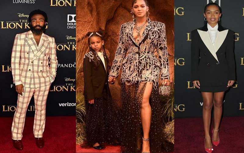 Red carpet style at the Lion King Premier