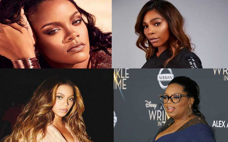 Rihanna, Serena, Beyoncé, Oprah: Forbes releases list of 80 richest self-made women