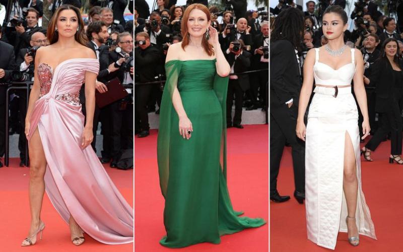Selena Gomez and Eva Longoria look dazzling as Cannes Film Festival kicks off
