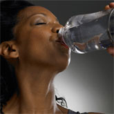 Woman looks younger after 3litres of water daily