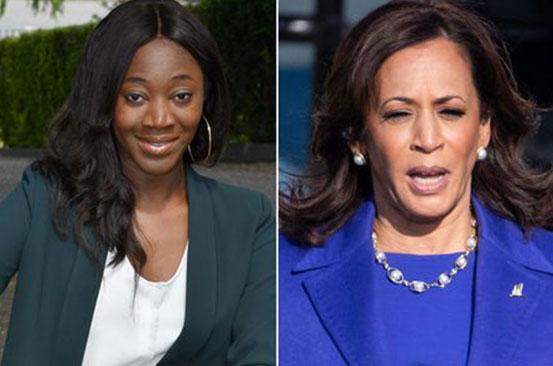 'As a black woman, Kamala Harris' inauguration resonates so deeply for me'
