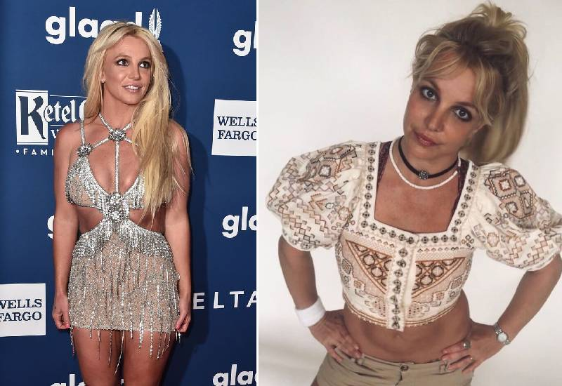 Britney Spears Flaunts Full Body Tattoo In Tiny Bikini Eve Woman