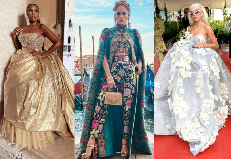Celebrities glam up at The Dolce and Gabbana Show